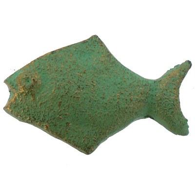 "2.25"" Verdegris Fish Drawer Pull"