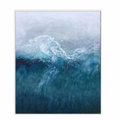 "48"" x 40"" Shoreline Framed Canvas"