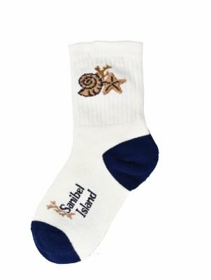 Sanibel Shell Socks