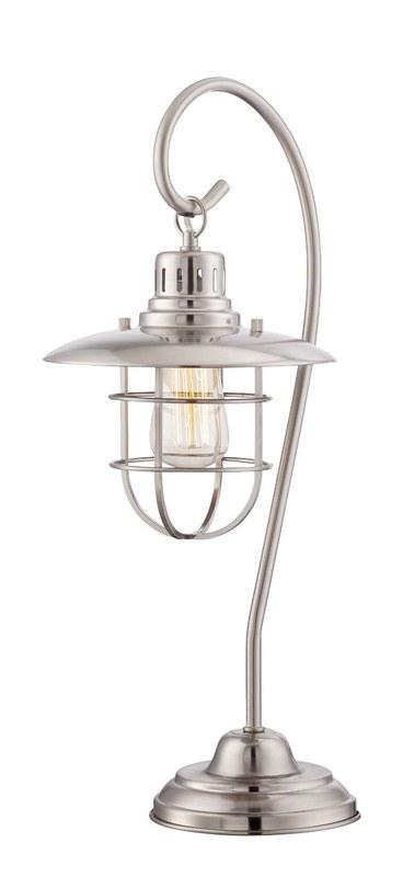 23 Metallic Silver Hanging Lantern