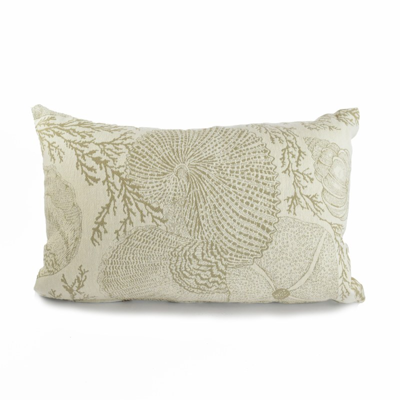 12 X 19 Sand And Natural C Reef Decorative Pillow