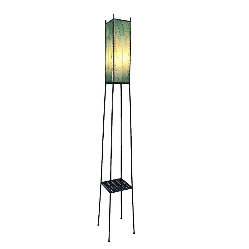 72 Aqua Outdoor Tower Floor Lamp