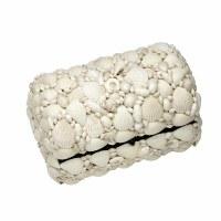 "10"" White Shell Mosaic Box"
