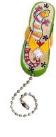 Gecko Flip-Flop Fan Pull Chain Fob