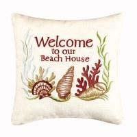 """10"""" Beach House Pillow"""