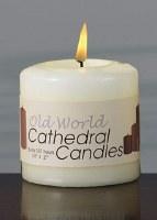 "3""x3"" Cream Pillar Candle"