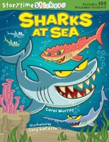 Sharks at Sea Sticker Book