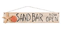 "31"" Sand Bar Now Open Sign"