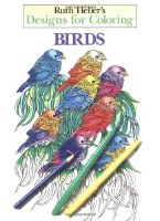 Ruth Heller's Designs for Coloring: Birds Book