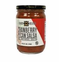 12oz Classy Delites Cranberry Pecan Salsa