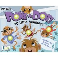 Ten Little Monkeys Poke-a-Dot Book
