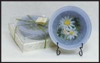"7"" Lavender Chamomile Wax Bowl"