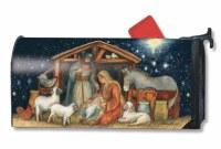 "20"" x 18"" Holy Night Nativity Scene Mailwrap"