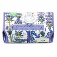 8.7 oz Large Lavender Rosemary Life Soap Bar
