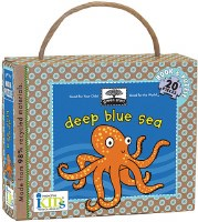 Deep Blue Sea Puzzle and Book Travel Set