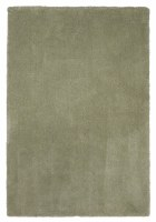 2 ft. 3 in. x 3 ft. 9 in. Sage Green Bliss Shag Rug