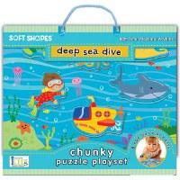Soft Shapes: Deep Sea Dive Puzzle Playset