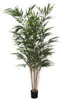 """96"""" Potted Green Artificial Panda Bamboo Tree"""