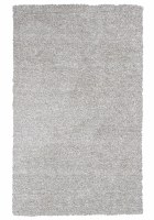 2 ft. 3 in. x 3 ft. 9 in. Ivory White and Beige Heather Bliss Rug