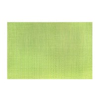 """13"""" x 19"""" Green Trace Basketweave Placemat"""