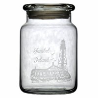 26oz Light House 'Sanibel Island' Glass Jar