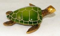 "4"" Green Sea Turtle Figurine"