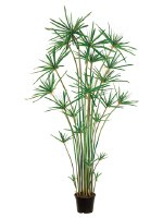 """72"""" Artificial Potted Cypress Grass"""
