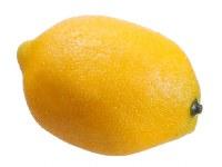 """3"""" Yellow Artificial Lemon"""