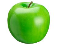 "3"" Green Artificial Apple"