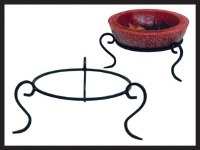 "7"" Centerpiece Wax Bowl Candle Stand"