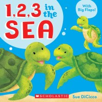 1, 2, 3 In The Sea Board Book