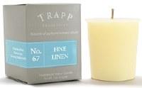 2 oz. Fine Linen Scented Votive Candle