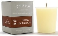 2 oz. Teak and Oud Wood Votive Candle