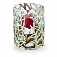 """9"""" Ocean Coral Hurricane with Glass Insert"""