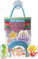 Soft Shapes: Mermaids Tub Stickables Foam Stickers Set