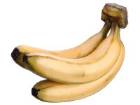 "9"" Yellow Artificial Banana Cluster"