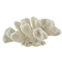 """7"""" White Faux Cauliflower Coral"""
