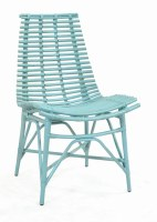 "20"" Sky Blue Franklin Side Chair"