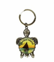 Sanibel Island Turtle Key Chain