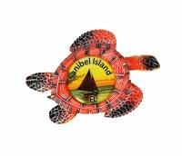 Sanibel Island Turtle Magnet
