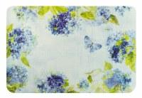 """12"""" x 18"""" Hydrangea Blossom Rectangle Placemat"""