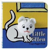 Little Kitten Finger Puppet Board Book