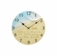 "12"" Life's A Beach Clock"