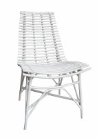 "20"" White Franklin Side Chair"