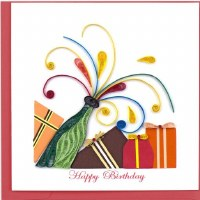 "6"" x 6"" Quilling Pop It Birthday Greeting Card"