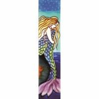 """2"""" x 8.5"""" Mermaid Tile"""