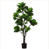 "72"" Green Artificial Fiddle Leaf Tree"