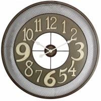 """32"""" Metal Varied Numbers Clock"""