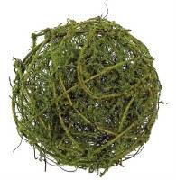 """6"""" Green Mossy Vine Orb"""