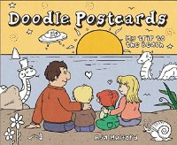 My Trip to the Beach: Doodle Postcards Book